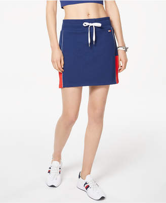 Tommy Hilfiger Colorblocked Pull-On Skort