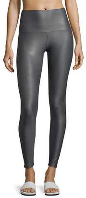 Onzie High-Rise Performance Leggings, Gray