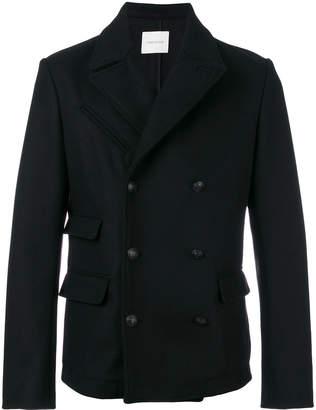 Pierre Balmain Double-breasted Wool Jacket