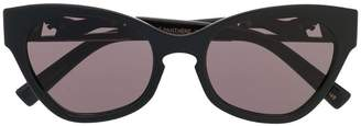 Le Specs oversized cat eye sunglasses