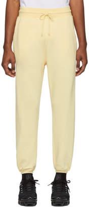 John Elliott Yellow Vintage Lounge Pants
