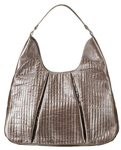 Xhilaration® Quilted Hobo Bag - Pewter