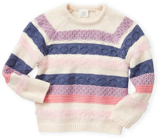 Egg Baby (Toddler Girls) Ellie Stripe Sweater