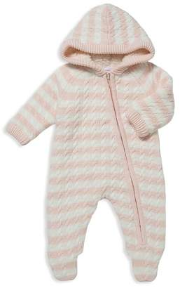 Angel Dear Girls' Sherpa-Lined Knit Footie - Baby
