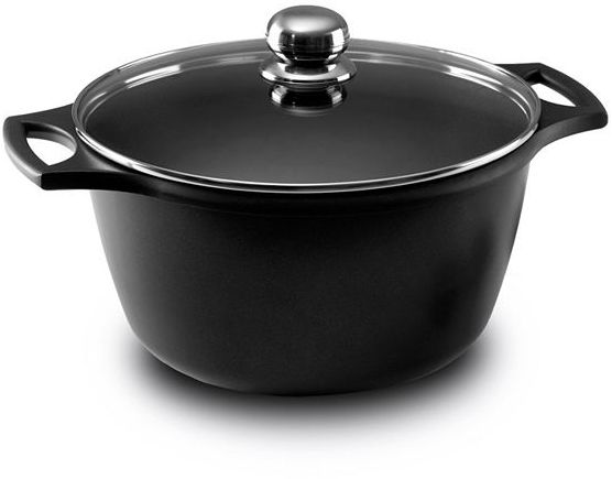 Fundix by castey cast-aluminum nonstick covered saucepots