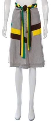 Bernhard Willhelm Knee-Length Knit Skirt
