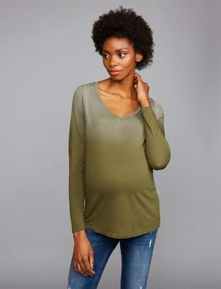 Z Supply Ombre Maternity Top