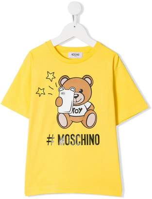 Moschino Kids Teddy Toy print T-shirt