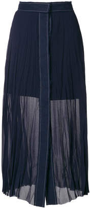 Aviu pleated skirt