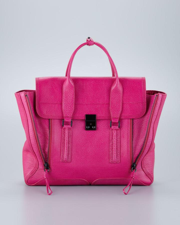 3.1 Phillip Lim Pashli Flap Satchel Bag