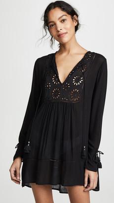 Kos Resort Eyelet Tunic Dress