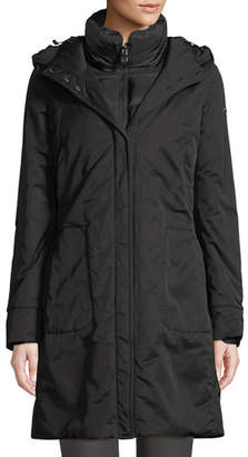Post Card Kamet Hooded Down Parka Coat w/ Underlay