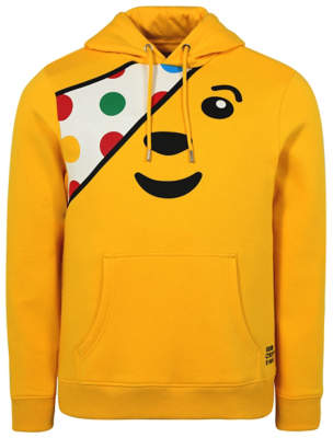 George Adults Children in Need Pudsey Bear Hoodie