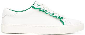 Ruffle sneakers