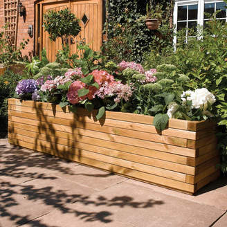 Rowlinson European Pine Wood Planter Box