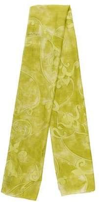 Salvatore Ferragamo Printed Silk-Blend Scarf