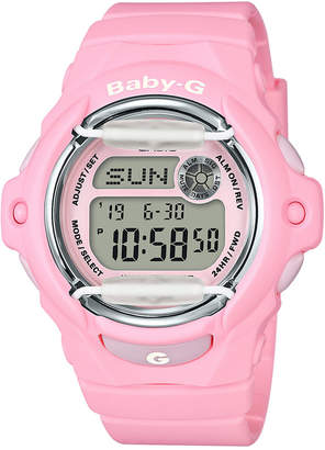 G-Shock Baby G Women's Digital Pink Resin Strap Watch 42.6mm