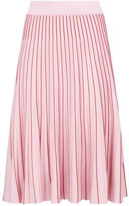 Jonathan Simkhai Metallic Pleated Skirt