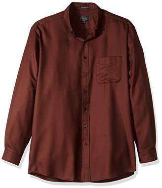 Pendleton Men's Long Sleeve Button Front Tall Sir Shirt