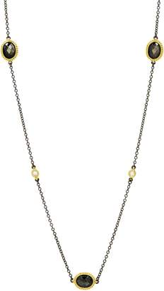 Freida Rothman Color Theory Oval Station Necklace