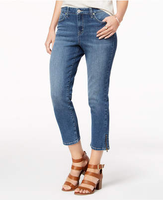 Style&Co. Style & Co Ankle-Zip Capri Jeans, Created for Macy's