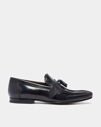 Ted Baker GRAFIT Tasselled leather loafers