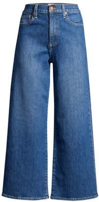 Alice + Olivia Jeans Gorgeous Crop Wide-Leg Jeans