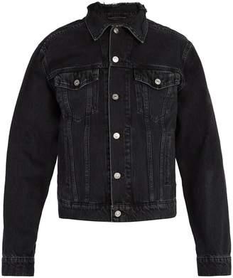 Balenciaga Distressed denim jacket