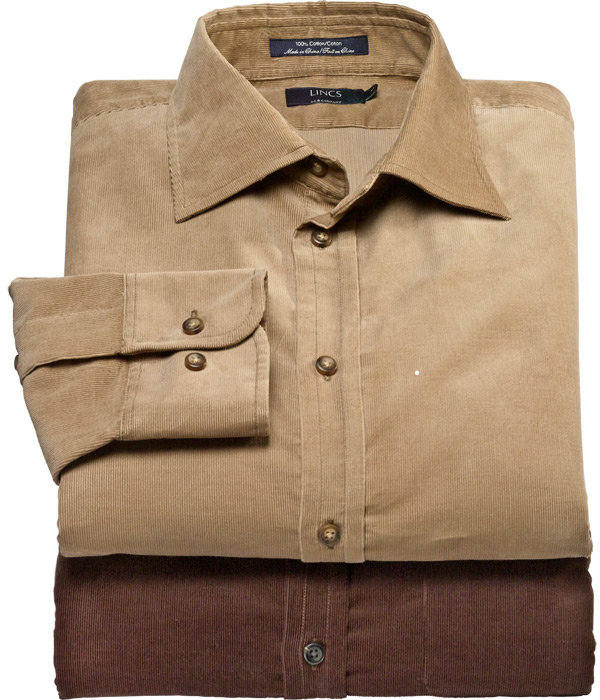 24 Wale Corduroy Shirt by David Chu