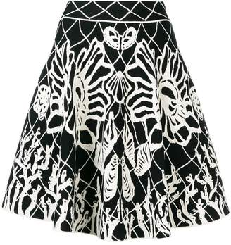 Alexander McQueen Spine Shell mini dress