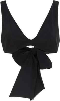 Araks Rosemund Bow-Embellished Bikini Top