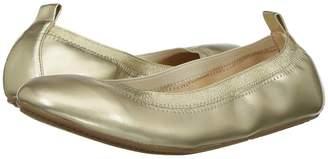 Yosi Samra Kids Miss Samara Metallic Ballet Flat Girls Shoes