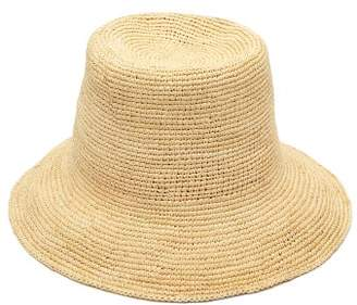 Greenpacha Ipanema Toquilla Straw Bucket Hat - Womens - Beige