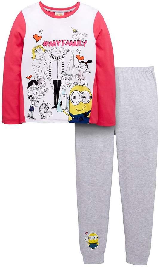 Despicable Me Minions Girls Pyjamas