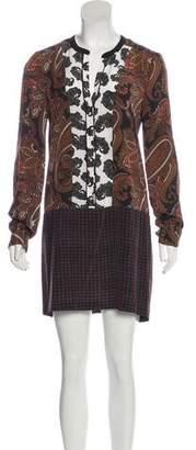 A.L.C. Silk Mini Dress