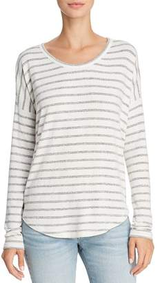 Rag & Bone Drop-Shoulder Striped Tee