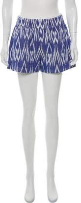 Alice + Olivia Ikat Mini Shorts w/ Tags