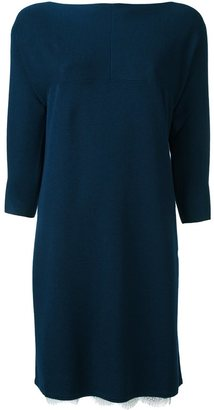 Twin-Set knitted sweater dress $241.88 thestylecure.com