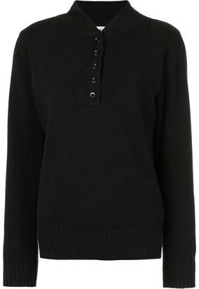 Margaret Howell button detail jumper