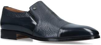 Stemar Leather Peccary Slip-On Shoes