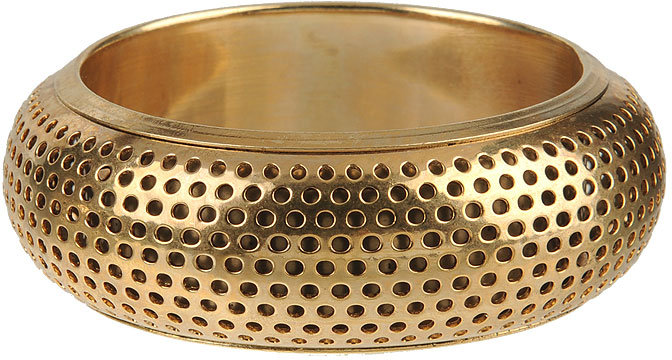 Forever 21 Perforated Metal Bangle