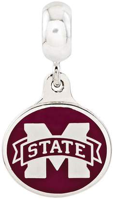 Collegiate Bead Company Sterling Silver Mississippi State University Dangle Bead