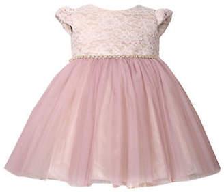 Iris & Ivy Baby Girl's Social Lace Ballerina Dress