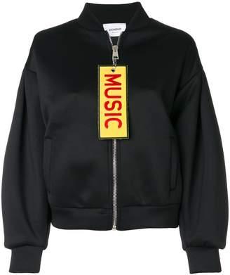 Music bomber jacket