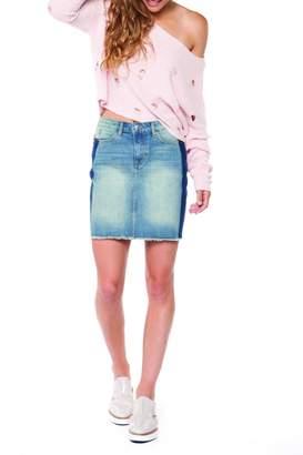 Dex Tuxedo Stripe Skirt