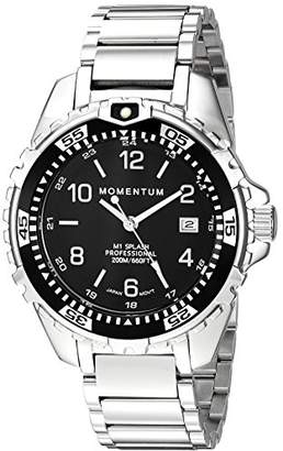 Momentum Women's Quartz Watch | M1 Splash by Momentum| Stainless Steel Watches for Women | Dive Watch with Japanese Movement & Analog Display | Water Resistant Ladies Watch with Date – Steel