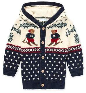 Ralph Lauren Childrenswear Baby Boy's Hooded Cardigan