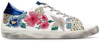 Golden Goose Star floral sneakers
