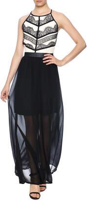 Cotton Club Maxi Dress