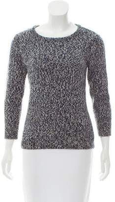 Rag & Bone Mélange Scoop Neck Sweater